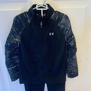 Under Armour toddler Boys Track Set with jacket